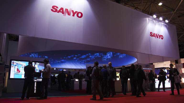 SANYO 360° Projection at ISE