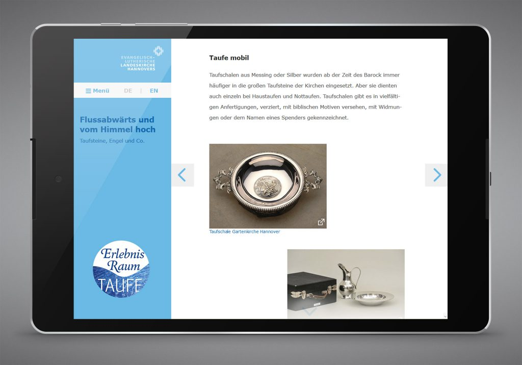 Landeskirche Hannover - Baptism App